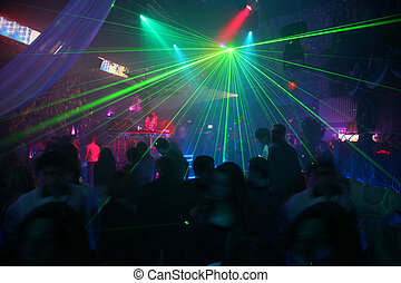 laser, disco