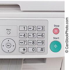 laser, fax, kopieerapparaat