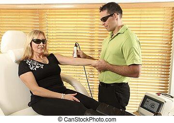 laser, fysiotherapie