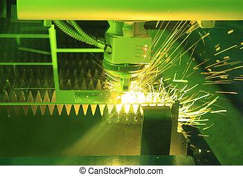 laser industrial, cortador