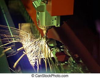 laser, machine découpage