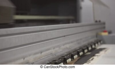 Laser print - Video of a Laser print in action