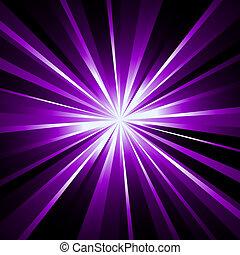 laser, raggi, fondo