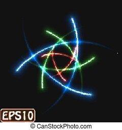 laser, raggi