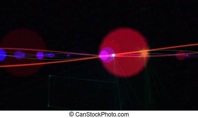 Laser Show 002 - Loop Background