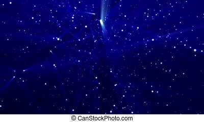 laser star particle