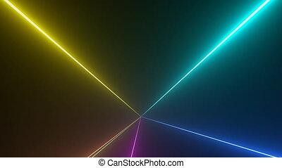 Laser Strobe Beams Seamless Loop - Laser strobe beams...