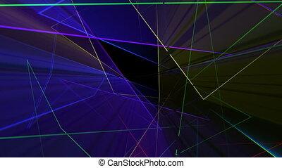 Laser Structure VJ Loop - Laser structure seamless loop 3D...