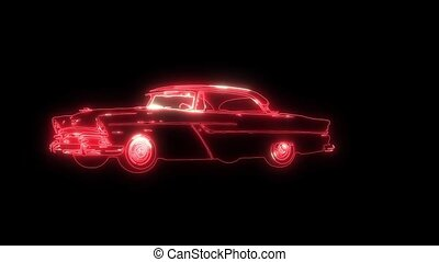 laser, vendange, animation, vidéo, voiture, sport