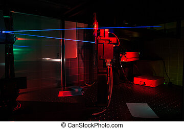 Lasers in a quantum optics lab