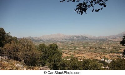 Lasithi Plateau, Crete, Greece - video footage of the...