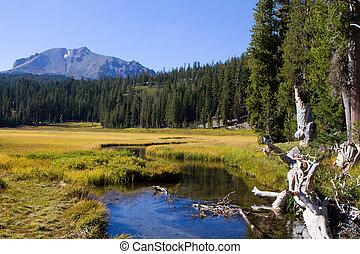 Lassen Mountain Stream - Kings Creek, a mountain stream ...