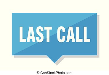 last call price tag - last call blue square price tag