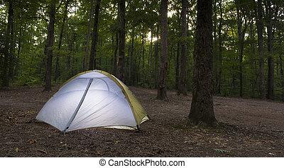 Last campsite light