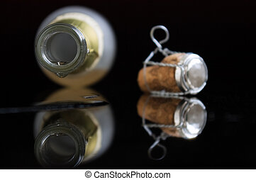 Last drop of champagne