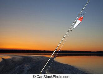 Last light fishing
