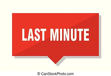 last minute red tag - last minute red square price tag