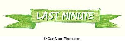 last minute ribbon - last minute hand painted ribbon sign