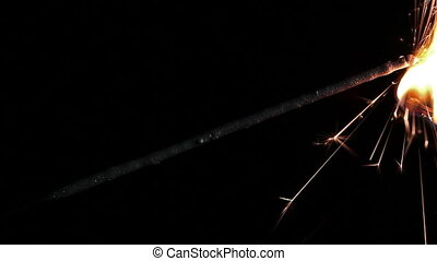 Last minute sparklers