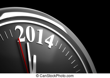Last Minutes to 2014 (computer generated image)