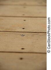 Last screw standing