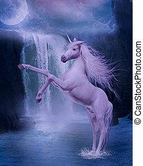last unicorn - 3d render