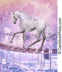 last unicorn - illustration