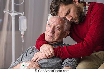 Last will of senior man