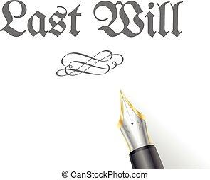 Last Will Pen