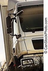 lastbil, detalje