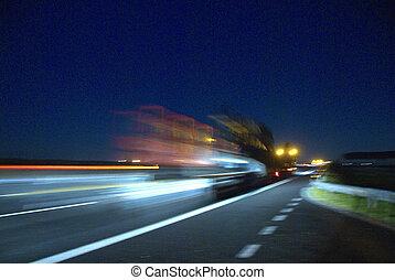 lastbil, transport