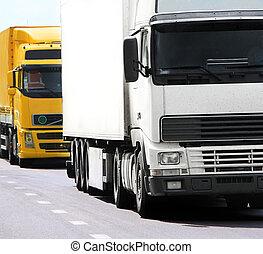 lastbiler, hovedkanalen