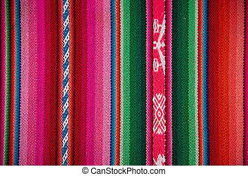 latín, tela, plano de fondo, tradicional, boliva, wooven, ...