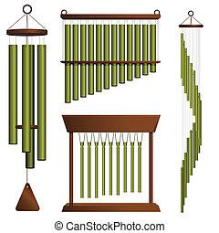 latón, carillones