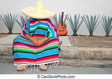 lat, mexikanare, sitta, gitarr, lugg, agave, siesta, serape...