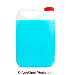 lata, com, non-freezing, líquido