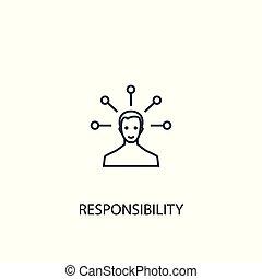 lata, illustration., móvel, esboço, simples, elemento, símbolo, conceito, usado, ser, responsabilidade, design., linha, icon., teia