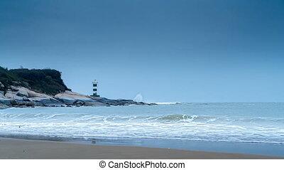 latarnia morska, morze
