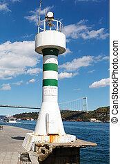 latarnia morska, na, przedimek określony przed rzeczownikami, bosphorus