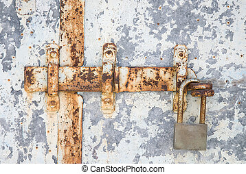 Latch and padlock