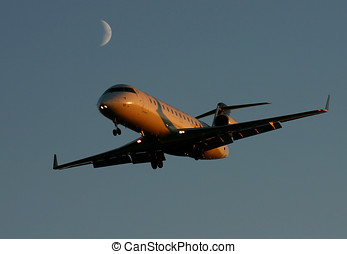 Late Arrival - Canadair CL-600-2B19 Regional Jet CRJ