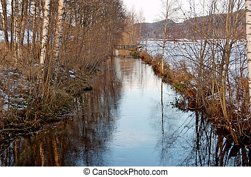 Late Autumn River