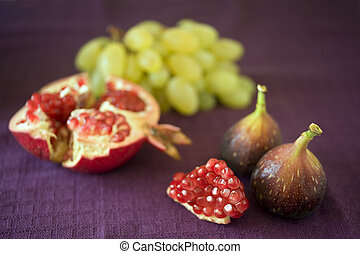 late summer fruits