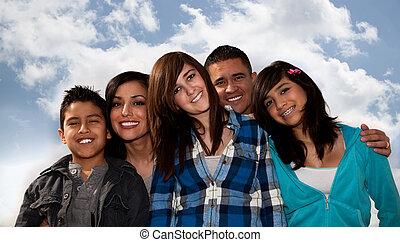 lateinamerikanische familie