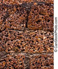 Laterite stone background