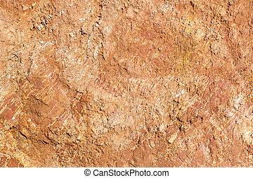 lateritic, suolo, sezione, croce