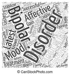 latest medication for bipolar affective disorder Word Cloud Concept