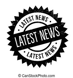 Latest news stamp
