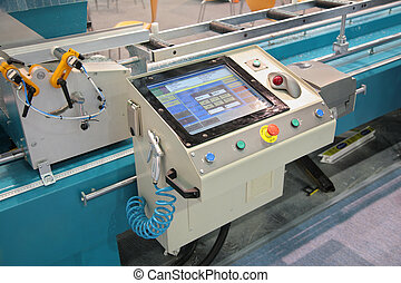 lathe control panel