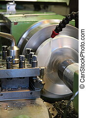 Lathe - Milling and machining of material to lathe